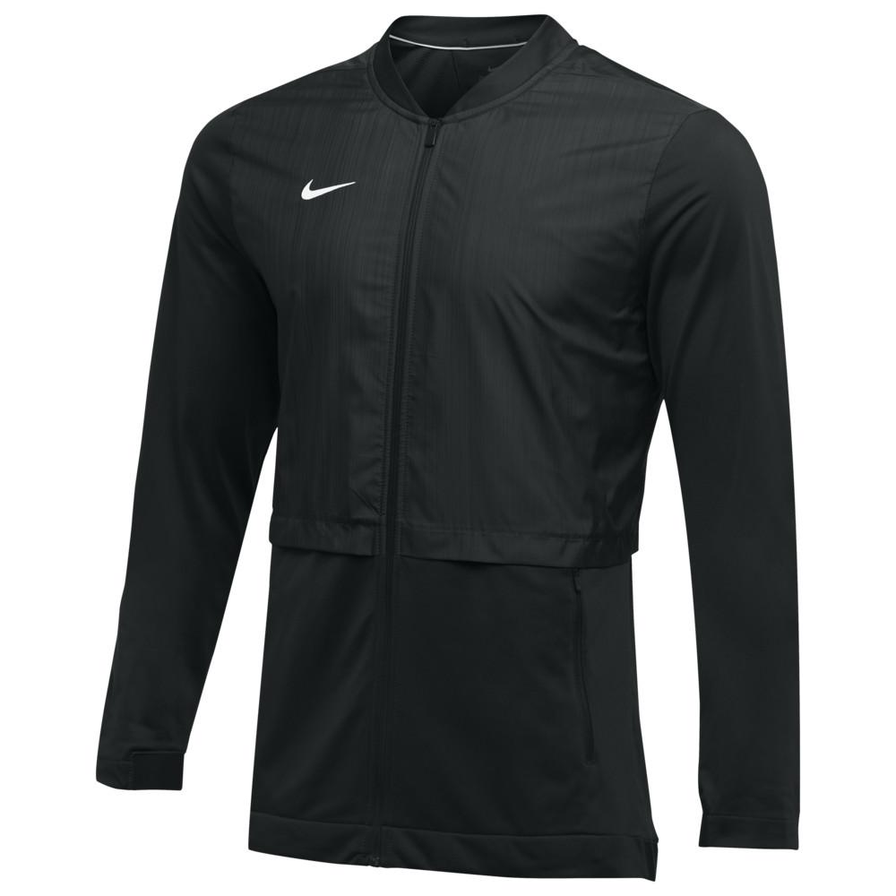 ナイキ Nike メンズ フィットネス・トレーニング ジャケット アウター【Team Authentic Elite Hybrid Jacket】Black/White