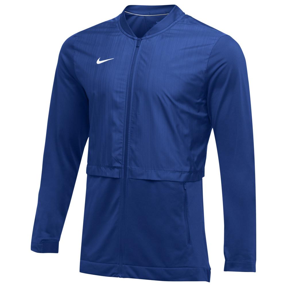 ナイキ Nike メンズ フィットネス・トレーニング ジャケット アウター【Team Authentic Elite Hybrid Jacket】Game Royal/White