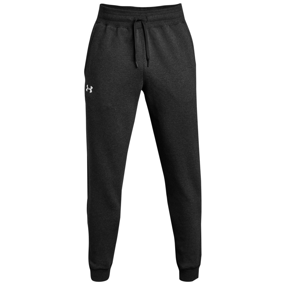 アンダーアーマー Under Armour メンズ フィットネス・トレーニング ジョガーパンツ ボトムス・パンツ【Team Hustle Fleece Jogger Pants】Black/White