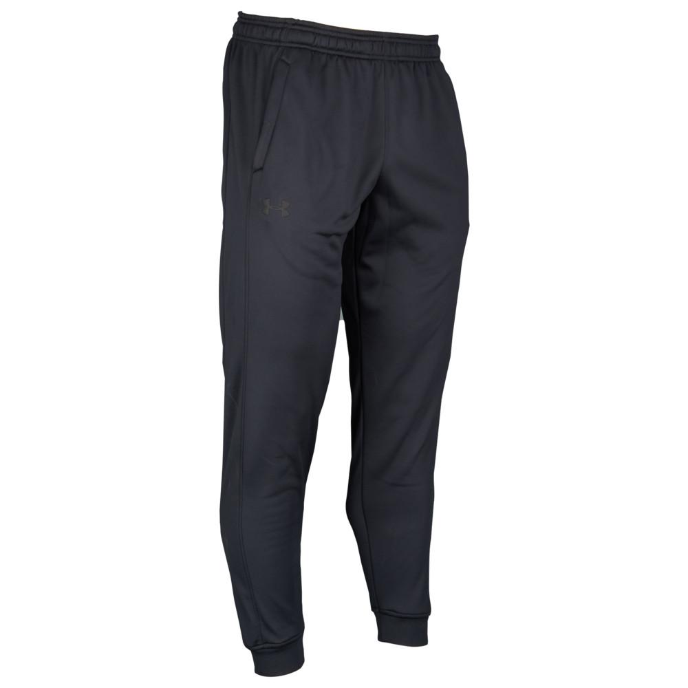 アンダーアーマー Under Armour メンズ フィットネス・トレーニング ジョガーパンツ ボトムス・パンツ【Armour Fleece Jogger Pants】Black/Black