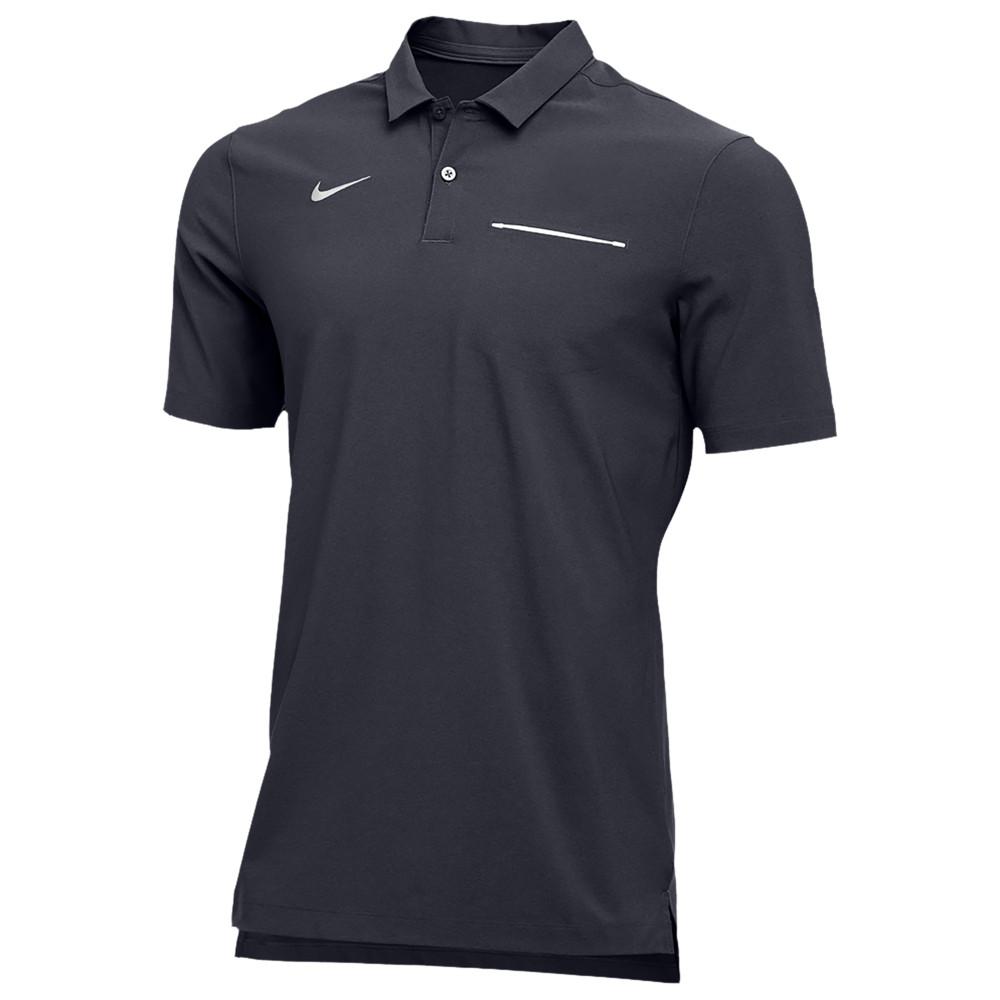 ナイキ Nike メンズ フィットネス・トレーニング トップス【Team Authentic Dry S/S Elite Polo】Anthracite/White