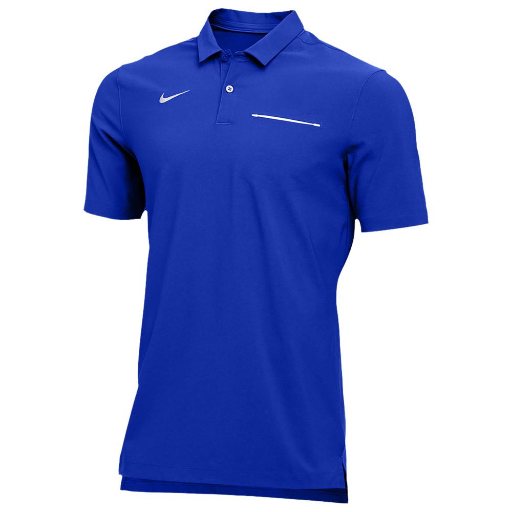 ナイキ Nike メンズ フィットネス・トレーニング トップス【Team Authentic Dry S/S Elite Polo】Game Royal/White