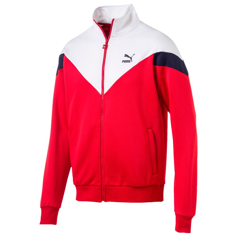 プーマ PUMA メンズ ジャージ アウター【Iconic MCS Track Jacket】High Risk Red