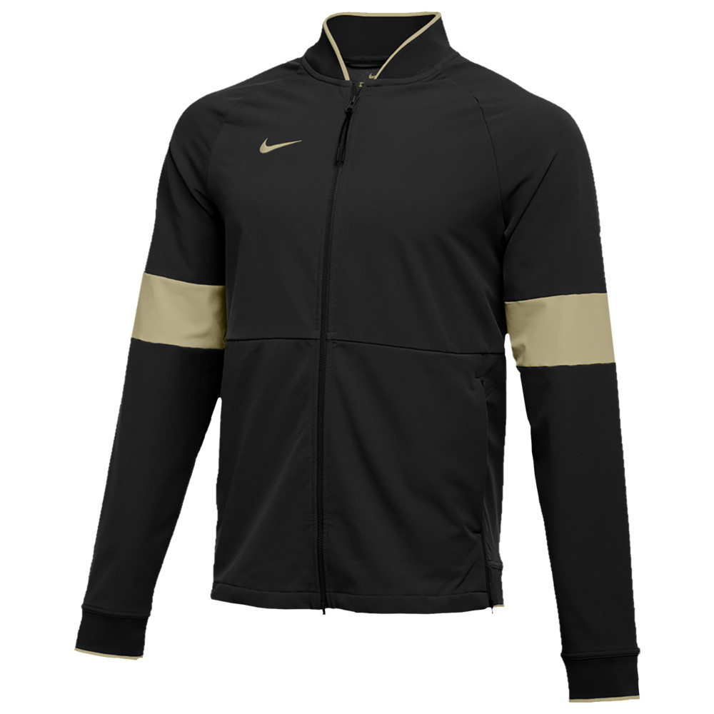 ナイキ Nike メンズ フィットネス・トレーニング ジャケット アウター【Team Authentic Therma Midweight Jacket】Black/Team Gold/Team Gold