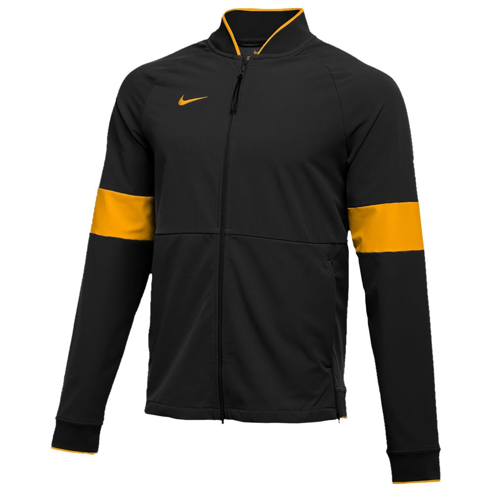 ナイキ Nike メンズ フィットネス・トレーニング ジャケット アウター【Team Authentic Therma Midweight Jacket】Black/Sundown/Sundown