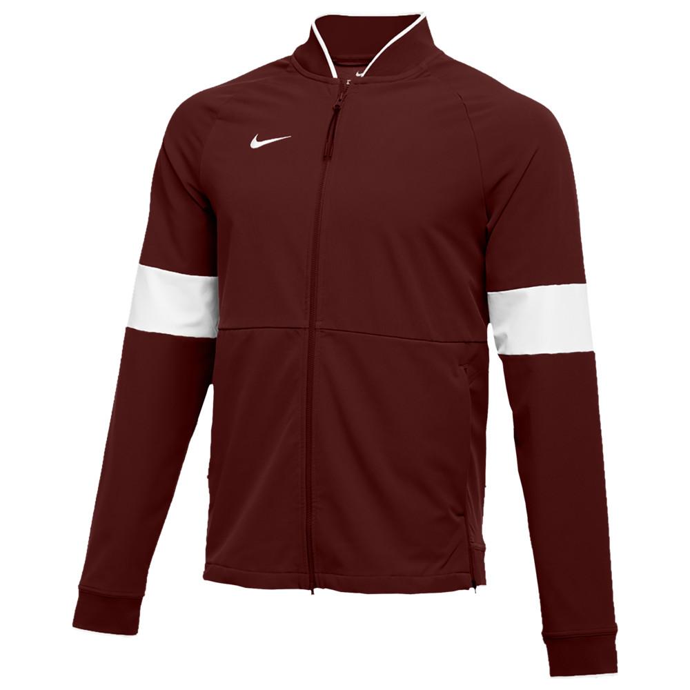 ナイキ Nike メンズ フィットネス・トレーニング ジャケット アウター【Team Authentic Therma Midweight Jacket】Deep Maroon/White/White