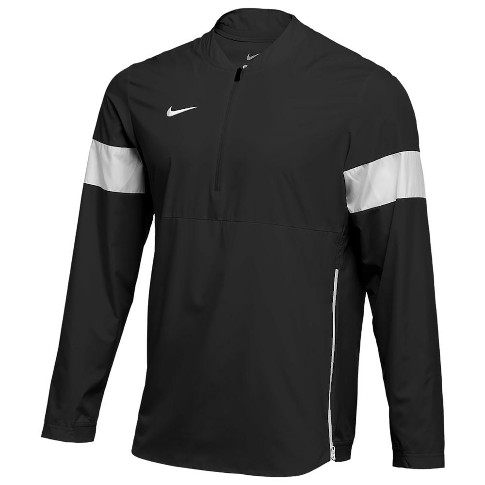 ナイキ Nike メンズ フィットネス・トレーニング コーチジャケット アウター【Team Authentic Lightweight Coaches Jacket】Black/White/White