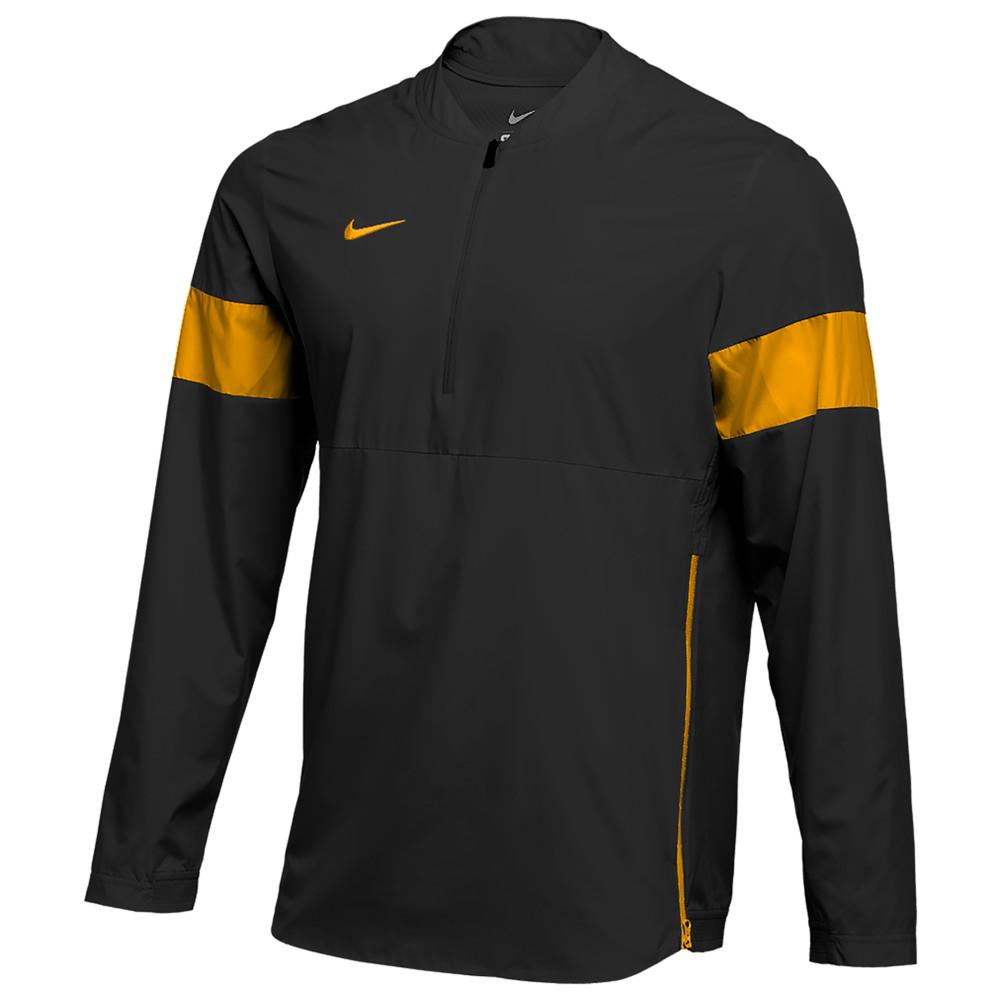 ナイキ Nike メンズ フィットネス・トレーニング コーチジャケット アウター【Team Authentic Lightweight Coaches Jacket】Black/Sundown/Sundown