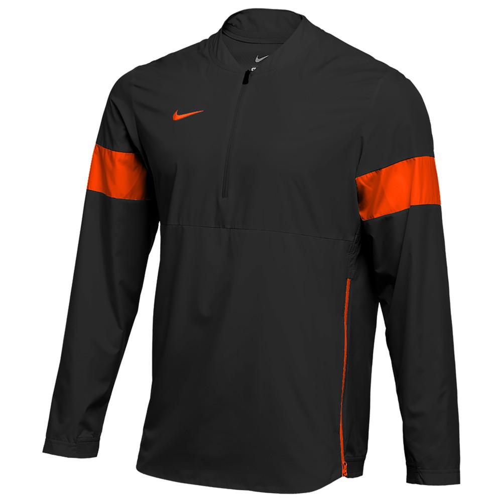 ナイキ Nike メンズ フィットネス・トレーニング コーチジャケット アウター【Team Authentic Lightweight Coaches Jacket】Black/Team Orange/Team Orange