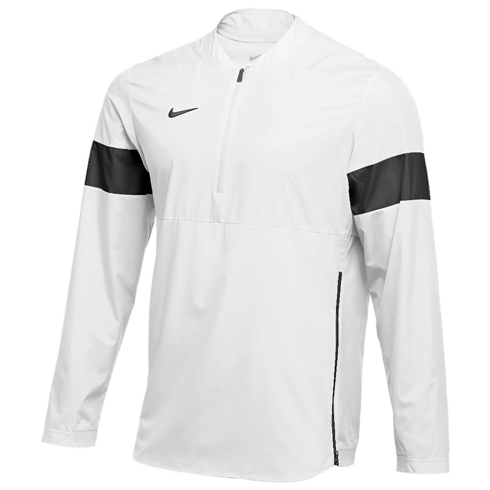 ナイキ Nike メンズ フィットネス・トレーニング コーチジャケット アウター【Team Authentic Lightweight Coaches Jacket】White/Black/Black