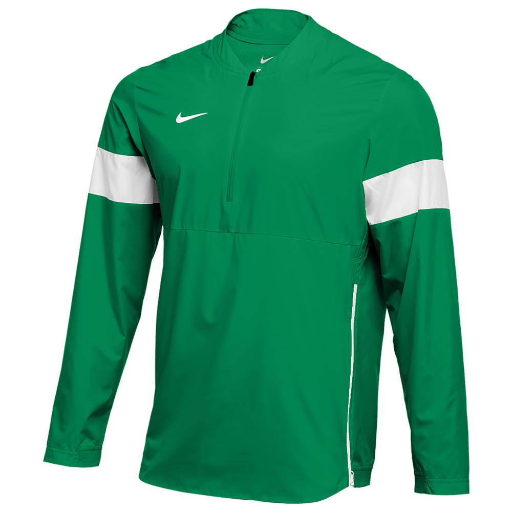 ナイキ Nike メンズ フィットネス・トレーニング コーチジャケット アウター【Team Authentic Lightweight Coaches Jacket】Apple Green/White/White