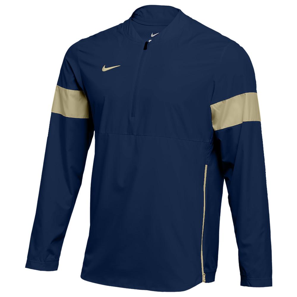 ナイキ Nike メンズ フィットネス・トレーニング コーチジャケット アウター【Team Authentic Lightweight Coaches Jacket】College Navy/Team Gold/Team Gold