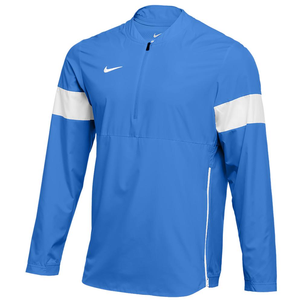 ナイキ Nike メンズ フィットネス・トレーニング コーチジャケット アウター【Team Authentic Lightweight Coaches Jacket】Valor Blue/White/White