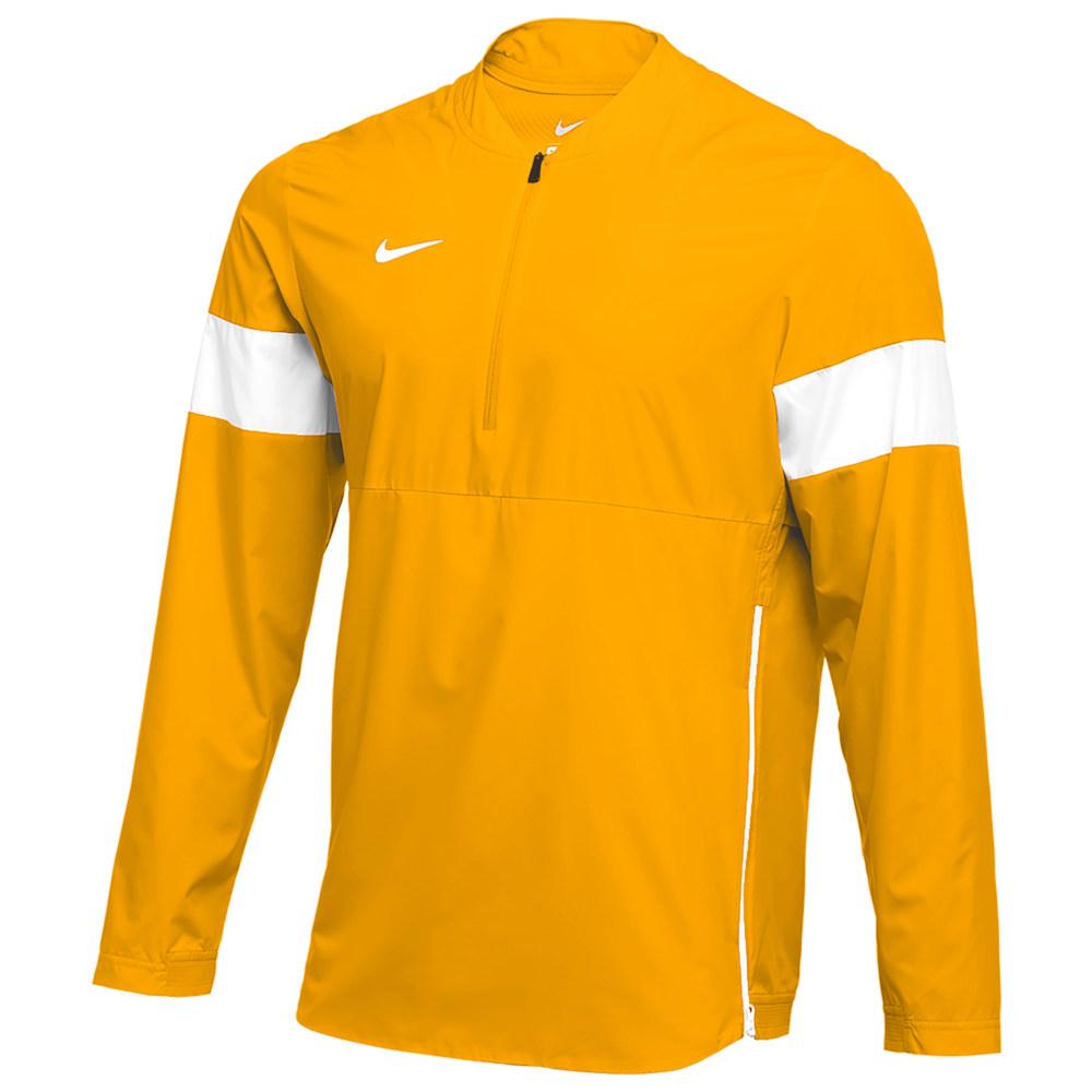 ナイキ Nike メンズ フィットネス・トレーニング コーチジャケット アウター【Team Authentic Lightweight Coaches Jacket】Sundown/White/White