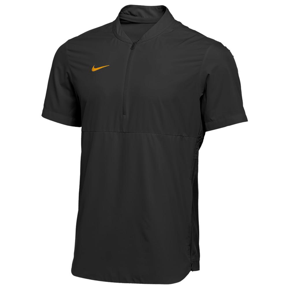 ナイキ Nike メンズ フィットネス・トレーニング ジャケット アウター【Team Authentic Shield Lightweight Jacket】Black/Sundown
