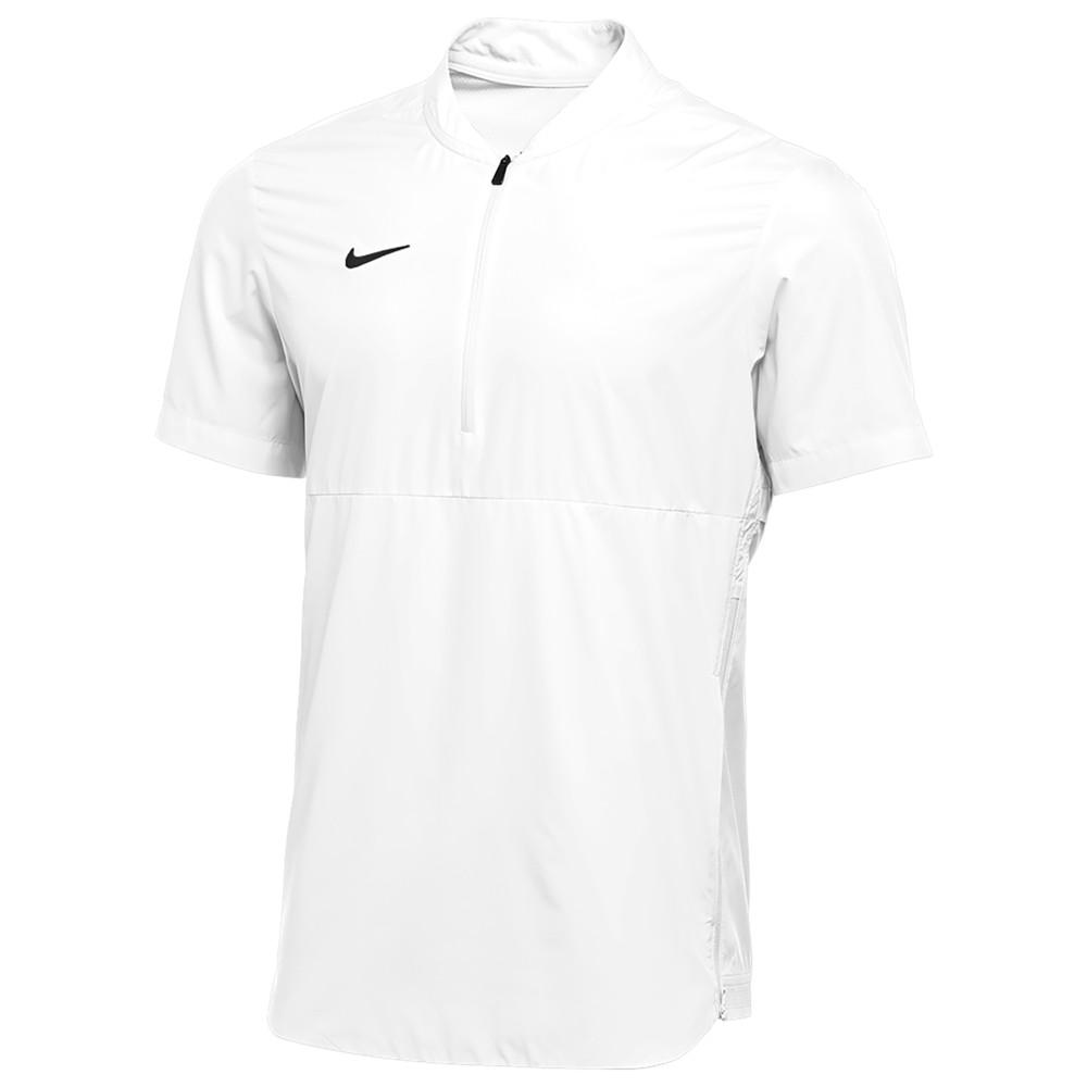 ナイキ Nike メンズ フィットネス・トレーニング ジャケット アウター【Team Authentic Shield Lightweight Jacket】White/Black