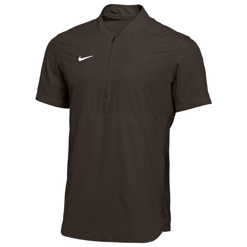 ナイキ Nike メンズ フィットネス・トレーニング ジャケット アウター【Team Authentic Shield Lightweight Jacket】Dark Cinder/White