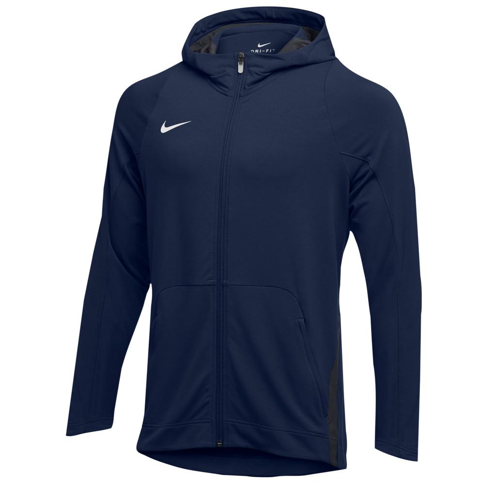 ナイキ Nike メンズ フィットネス・トレーニング パーカー トップス【Team Hyperelite Fleece Hoodie】Navy/Anthracite/White