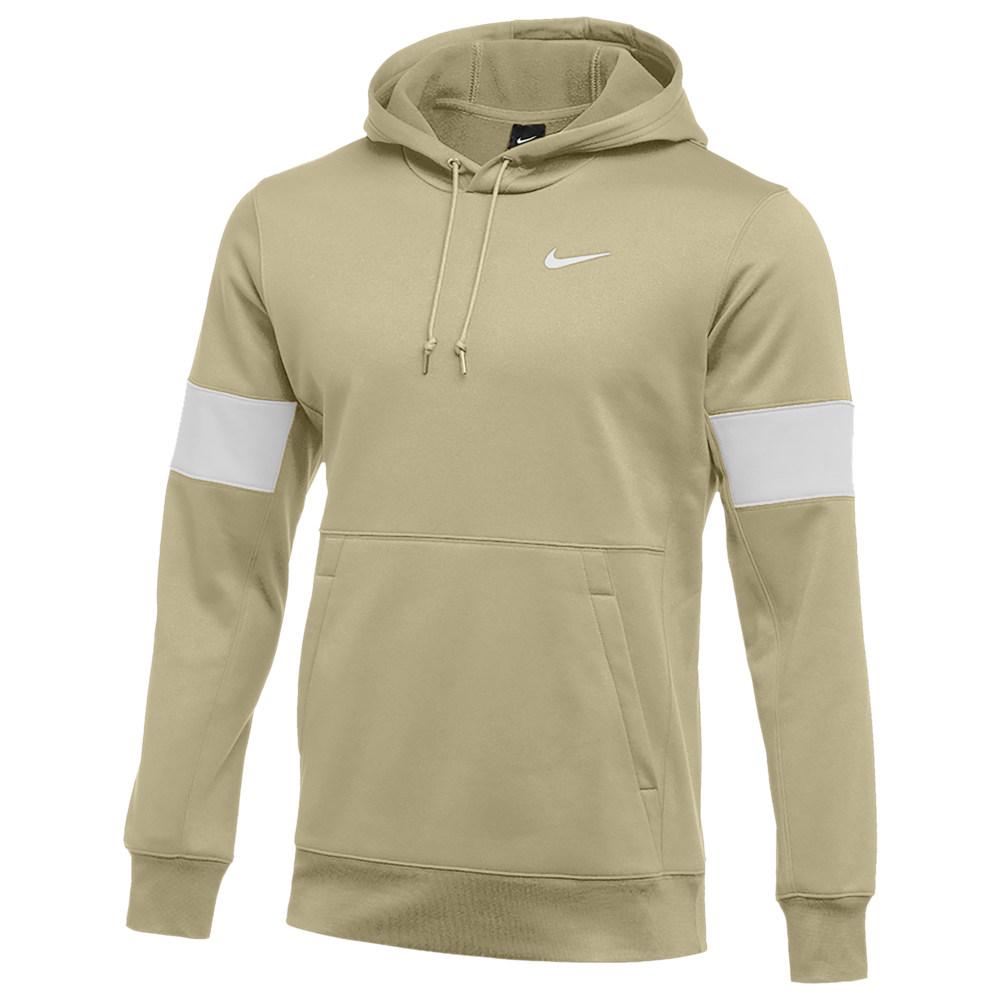 ナイキ Nike メンズ フィットネス・トレーニング パーカー トップス【Team Authentic Therma Pullover Hoodie】Team Gold/Flat Silver/White