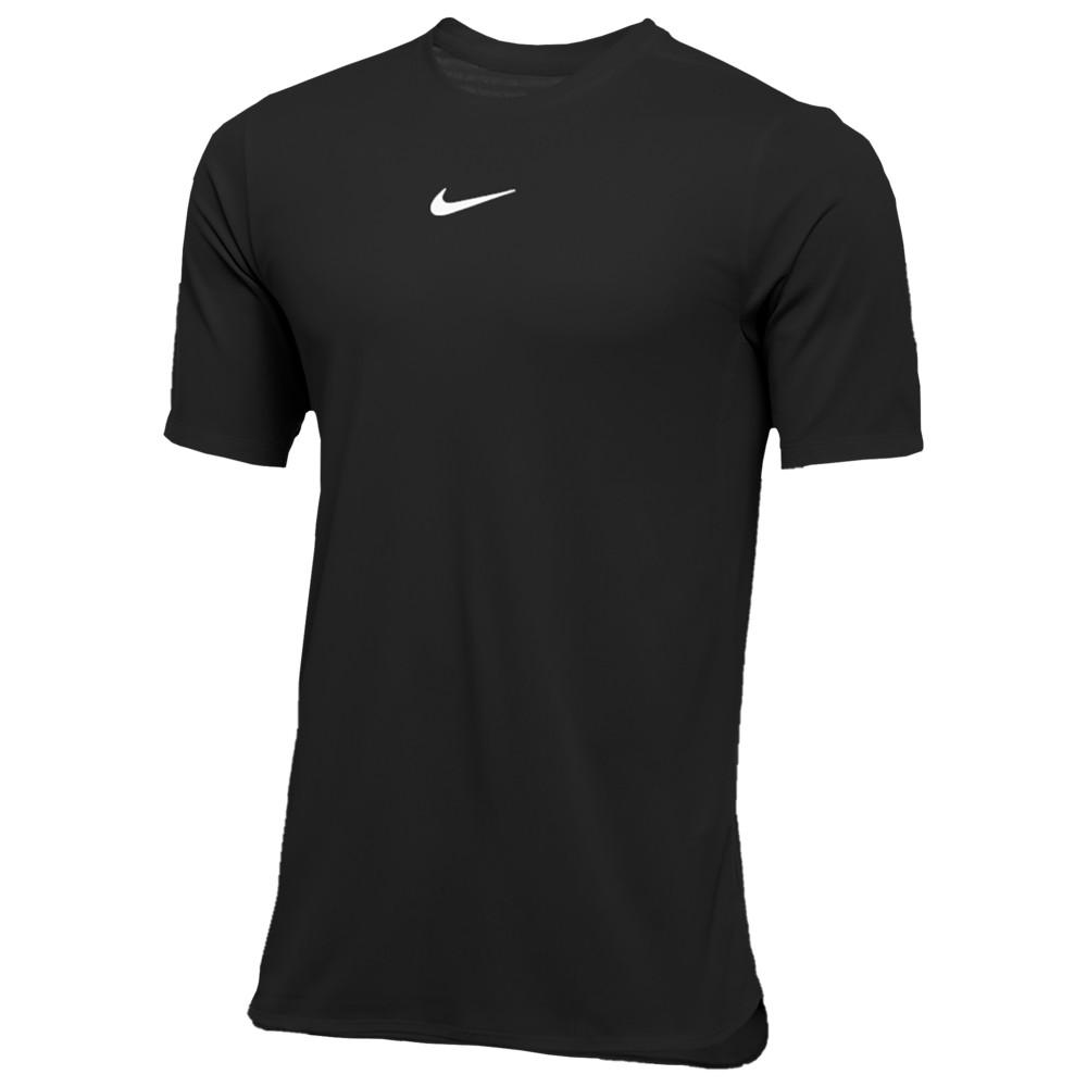 ナイキ Nike メンズ フィットネス・トレーニング トップス【Team Authentic Dry S/S Top】Black/White
