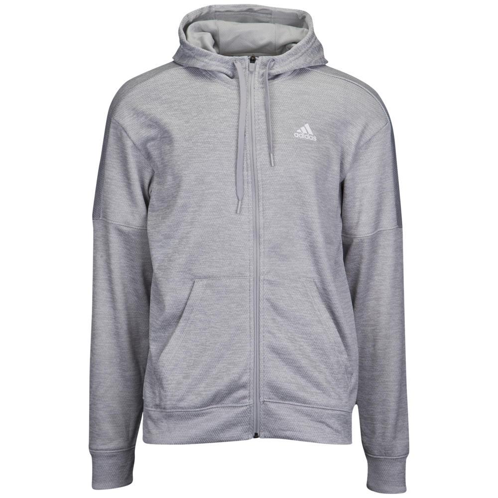 アディダス adidas メンズ フィットネス・トレーニング パーカー トップス【Team Issue Full-Zip Hoodie】Grey