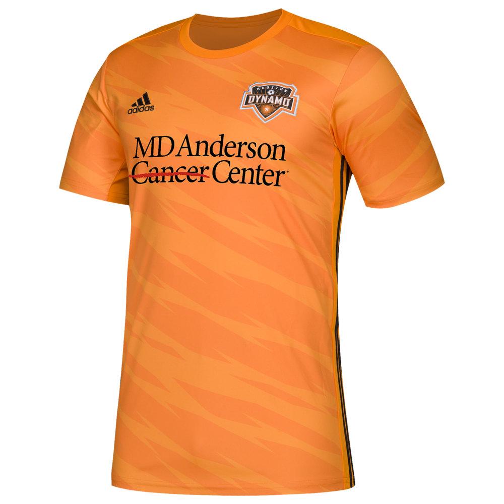 アディダス adidas メンズ サッカー ジャージ トップス【MLS Replica Jersey】MLS Houston Dynamo Orange