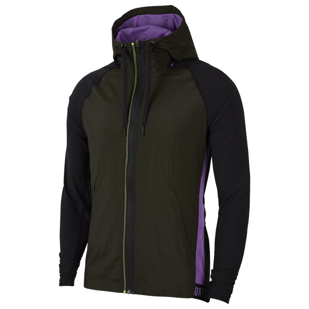 ナイキ Nike メンズ フィットネス・トレーニング パーカー トップス【Therma Full-Zip NSP Hoodie】Grey Heather/Lt Smoke Grey/Violet