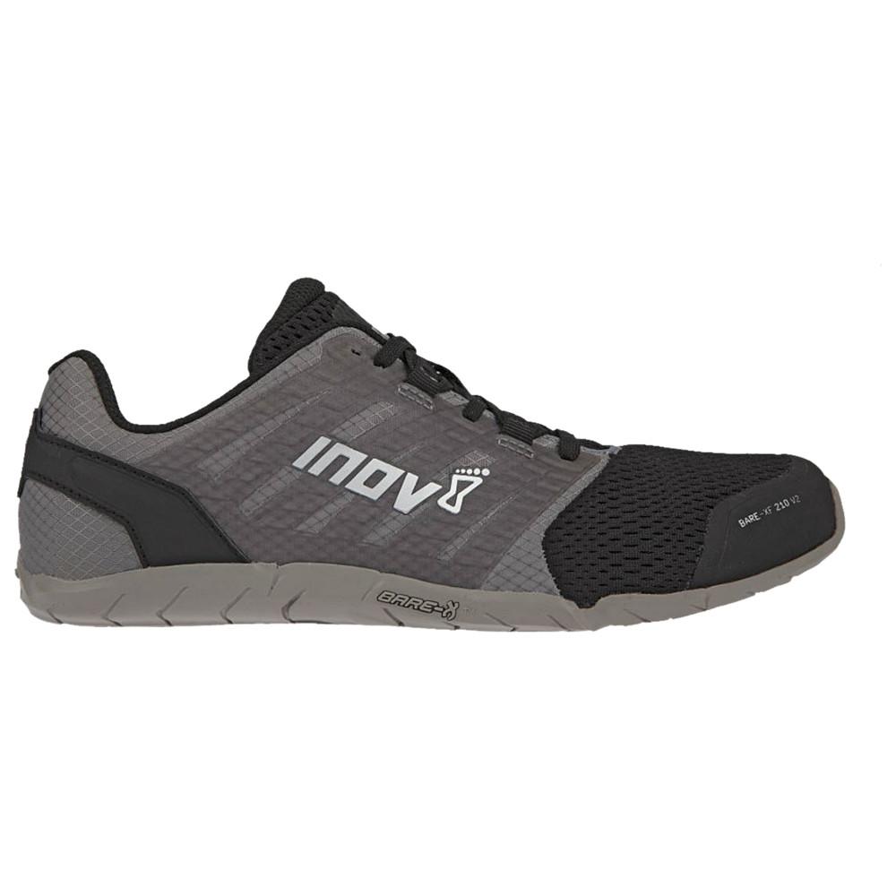 イノヴェイト Inov-8 レディース フィットネス・トレーニング シューズ・靴【Bare-XF 210 V2】Grey/Black