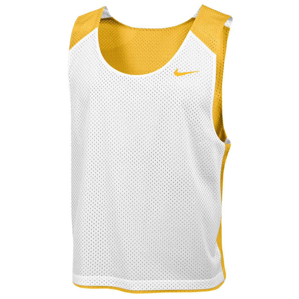ナイキ Nike メンズ ラクロス タンクトップ トップス【Team Reversible Lacrosse Mesh Tank】Team Bright Gold/White/Team Bright Gold