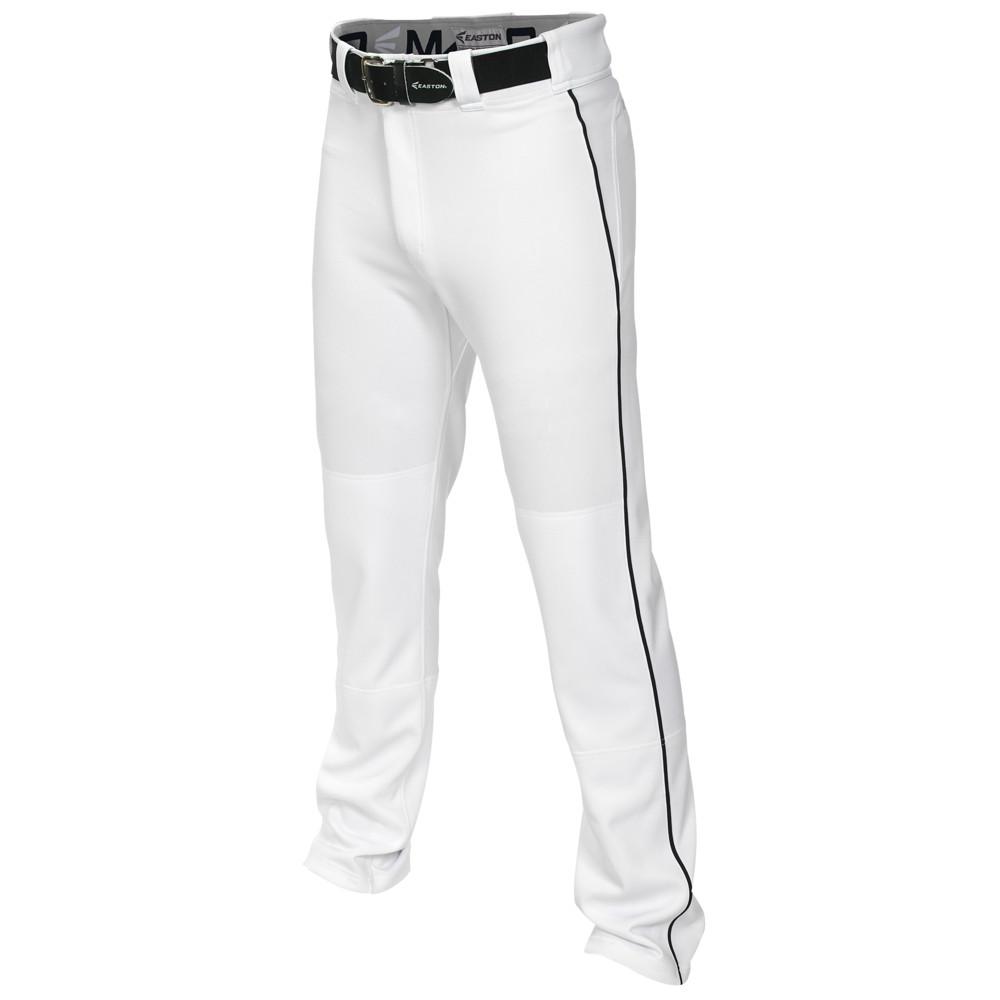 イーストン Easton メンズ 野球 ボトムス・パンツ【Mako 2 Piped Baseball Pants】White/Black