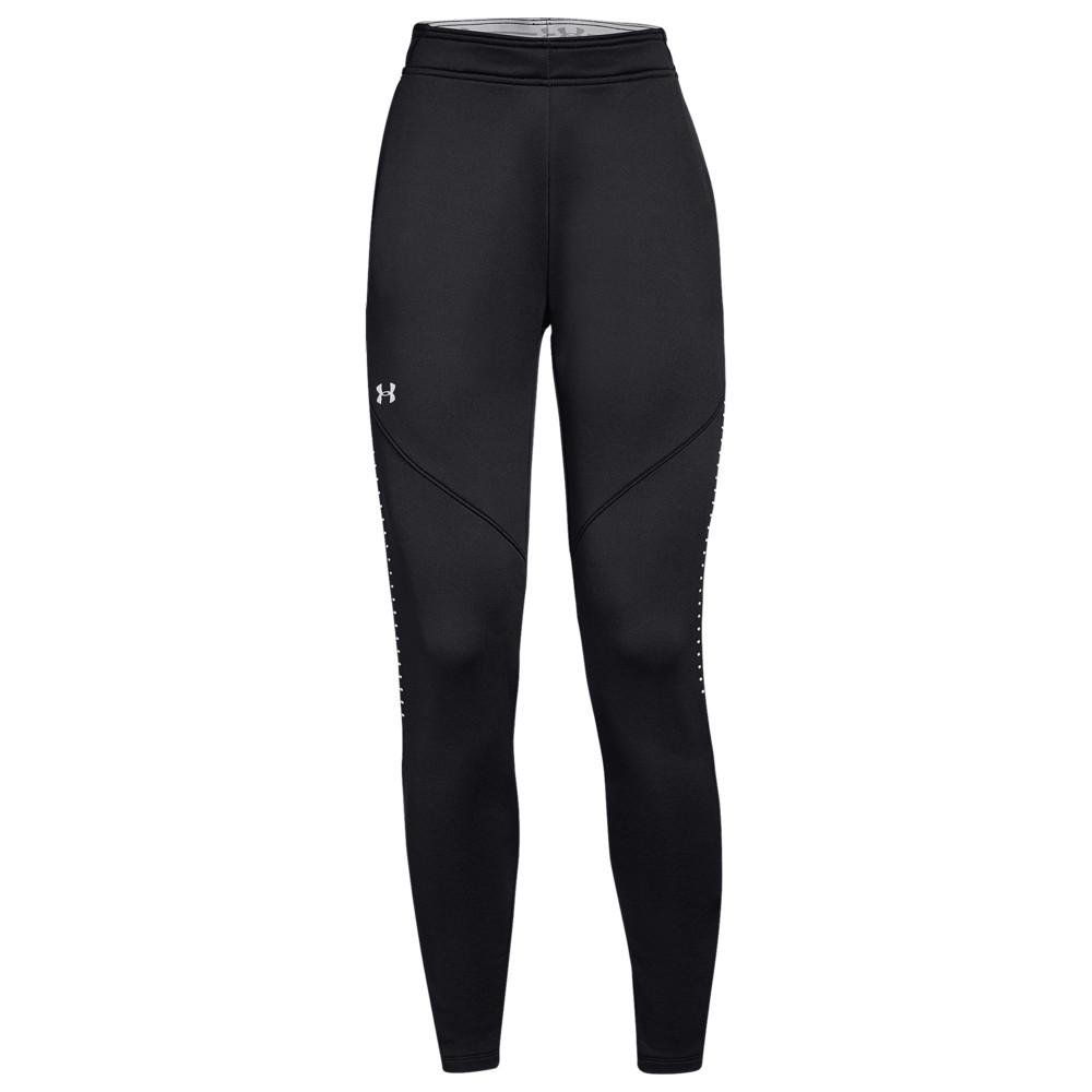 アンダーアーマー Under Armour レディース フィットネス・トレーニング ボトムス・パンツ【Team Qualifier Hybrid Warm-Up Pants】Black/White