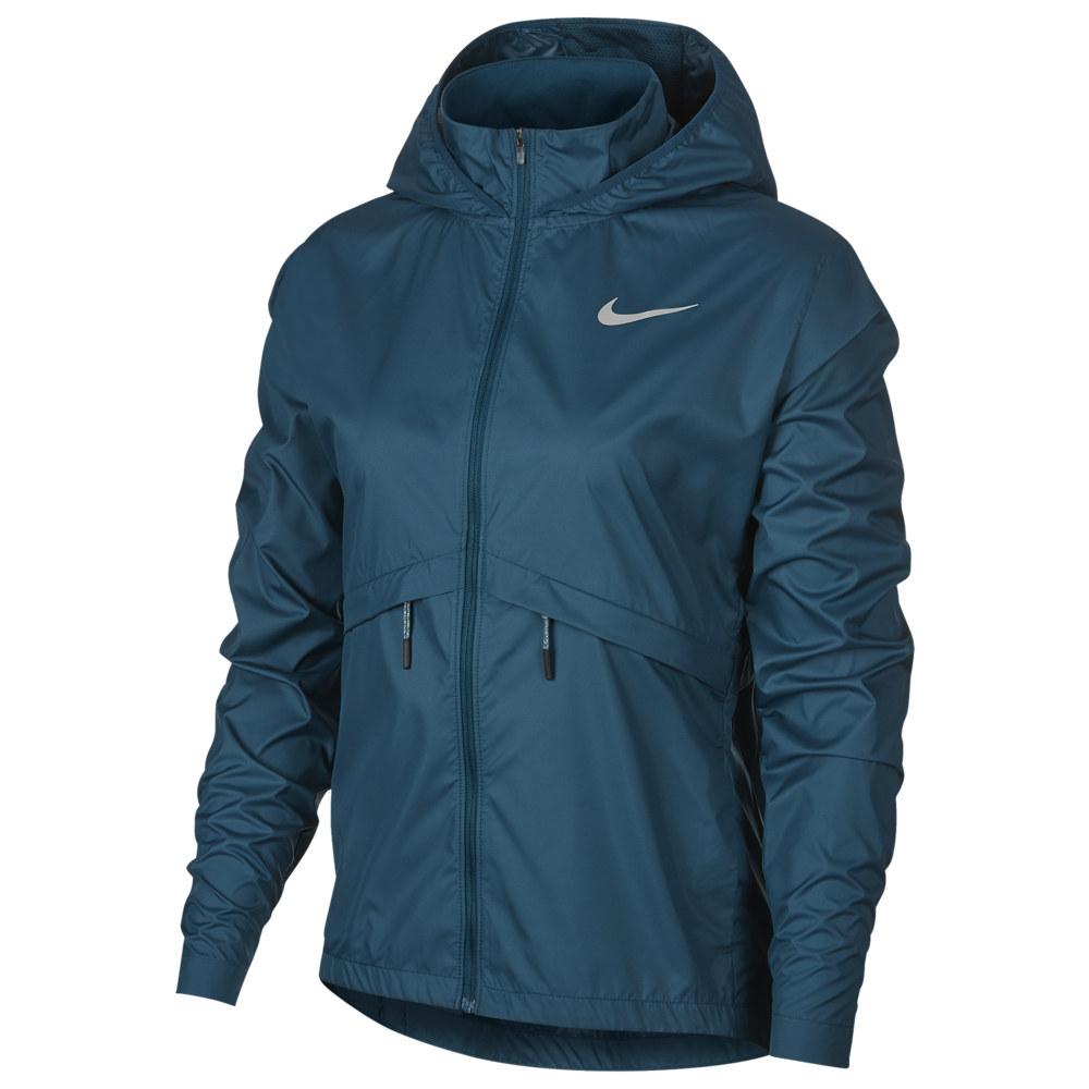 ナイキ Nike レディース フィットネス・トレーニング ジャケット アウター【Essential Jacket】Midnight Turq Reflective Silver