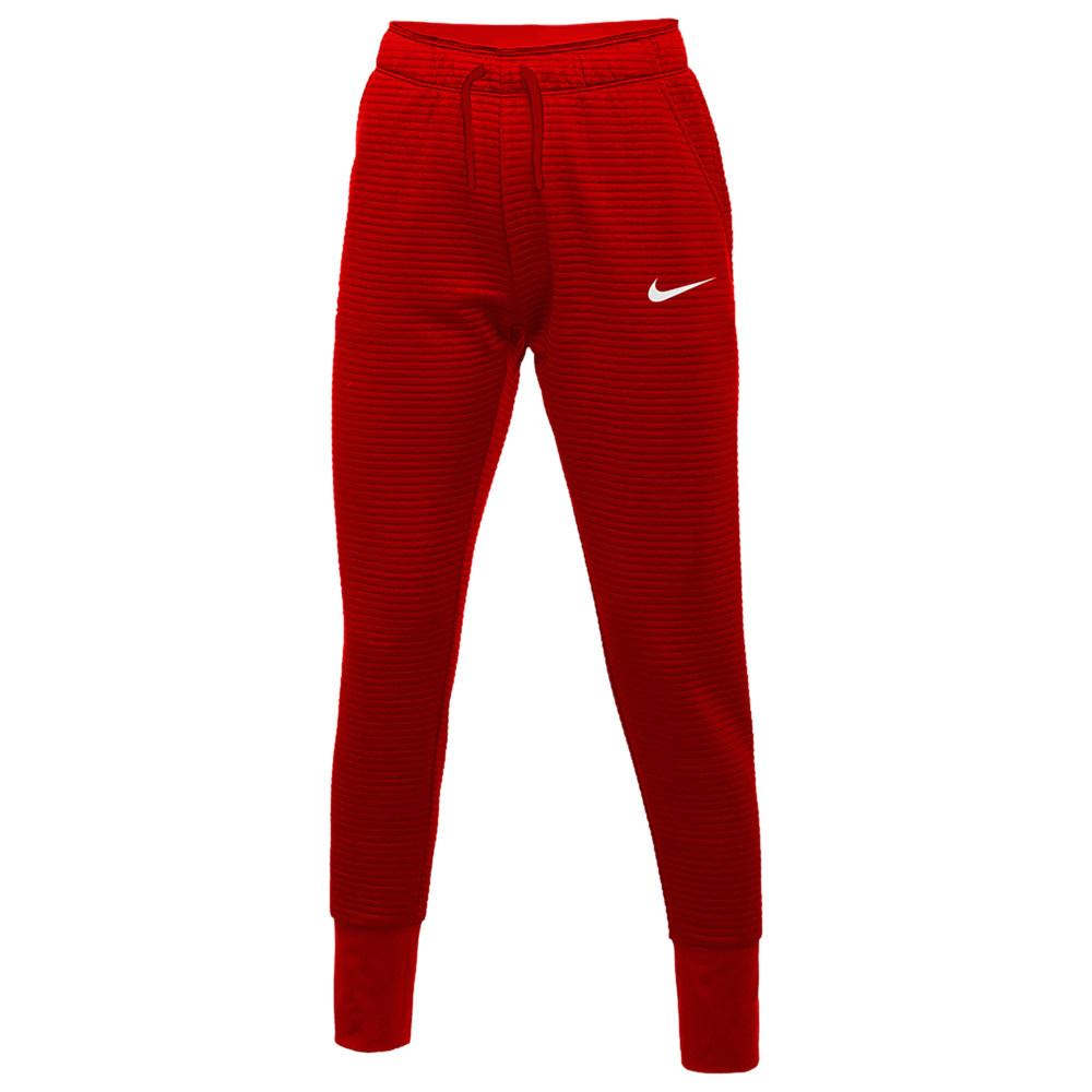ナイキ Nike レディース フィットネス・トレーニング テーパードパンツ ボトムス・パンツ【Team Authentic Tapered Pants】University Red/White