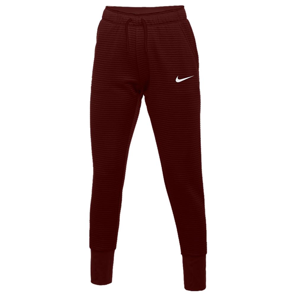ナイキ Nike レディース フィットネス・トレーニング テーパードパンツ ボトムス・パンツ【Team Authentic Tapered Pants】Deep Maroon/White