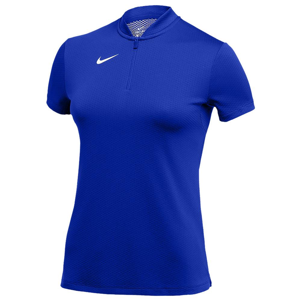 ナイキ Nike レディース フィットネス・トレーニング トップス【Team Authentic Dry Blade S/S Polo】Game Royal/White