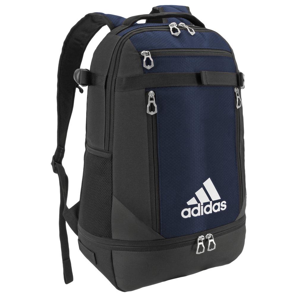 アディダス adidas ユニセックス バックパック・リュック バッグ【Team Utility Backpack】Collegiate Navy/Black/Silver