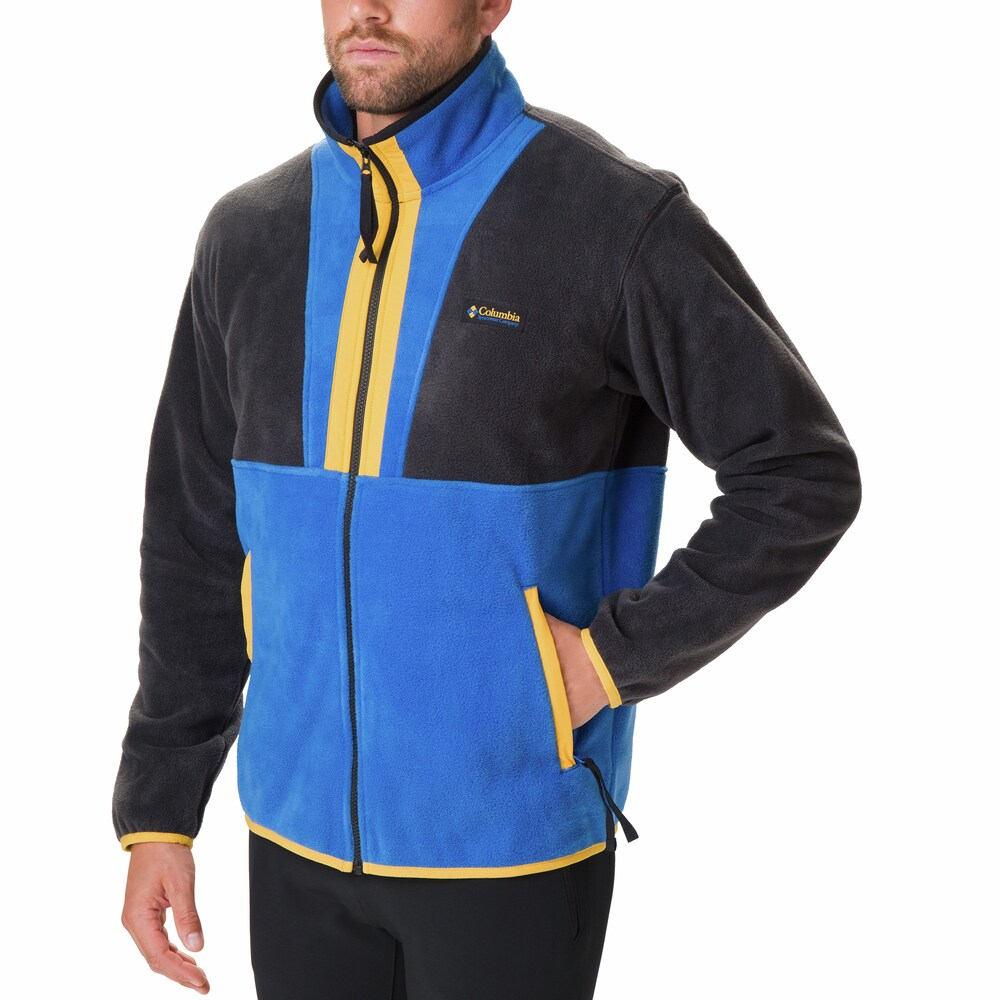 コロンビア Columbia メンズ フリース トップス【Bowl Full-Zip Fleece Jacket】Black/Blue