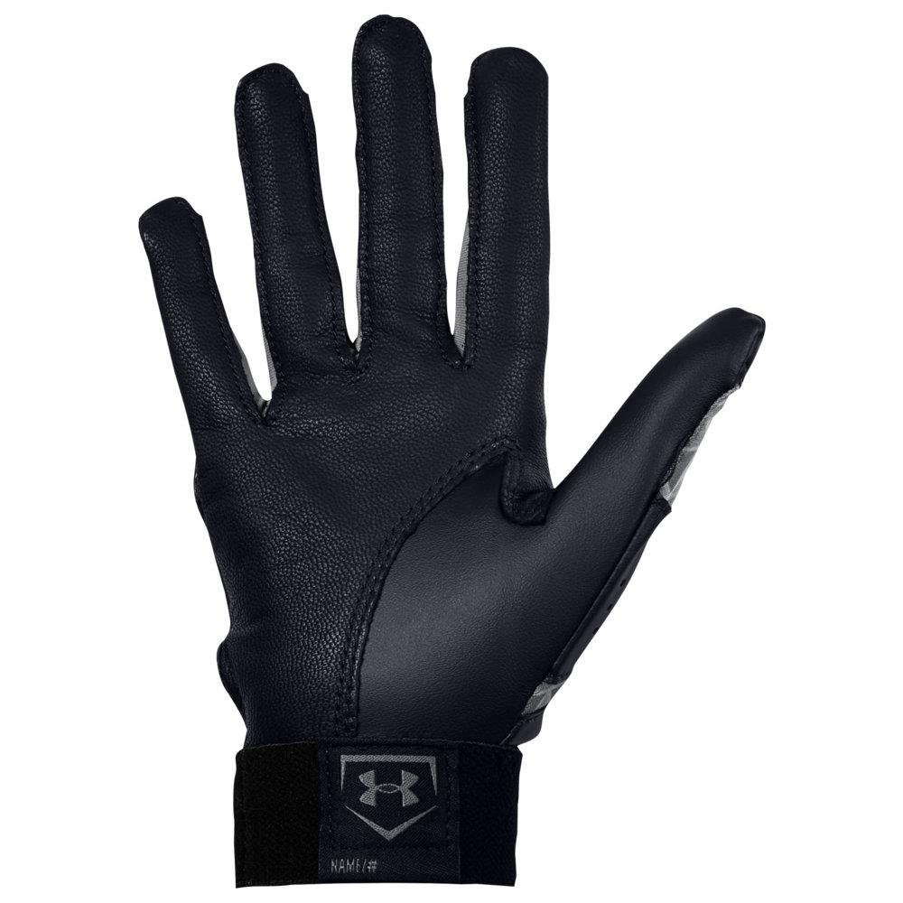 アンダーアーマー Under Armour レディース 野球 バッティンググローブ グローブ【Radar Fastpitch Batting Gloves】Black/Black/Graphite