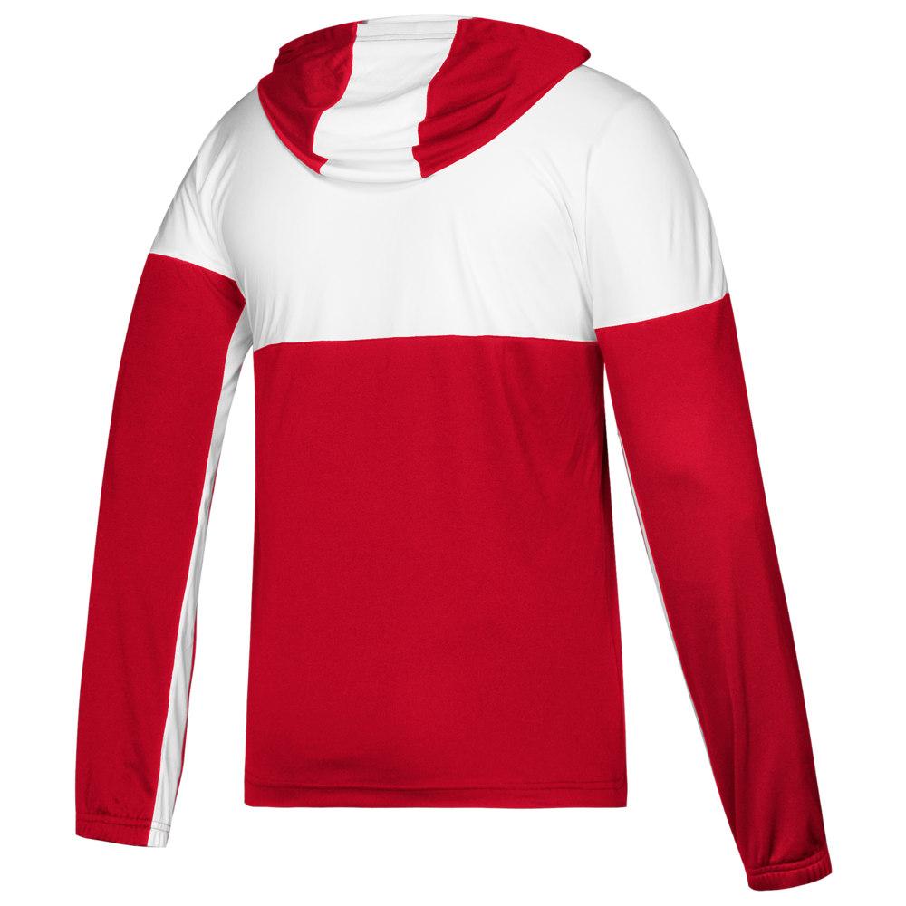 アディダス adidas メンズ バスケットボール トップス【Team Legend Shooter Shooting Shirt】Power Red/White