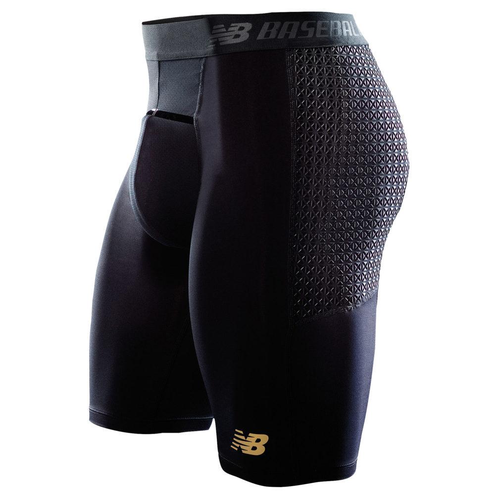 ニューバランス New Balance メンズ 野球 ショートパンツ ボトムス・パンツ【4040 Baseball Slider Shorts】Black