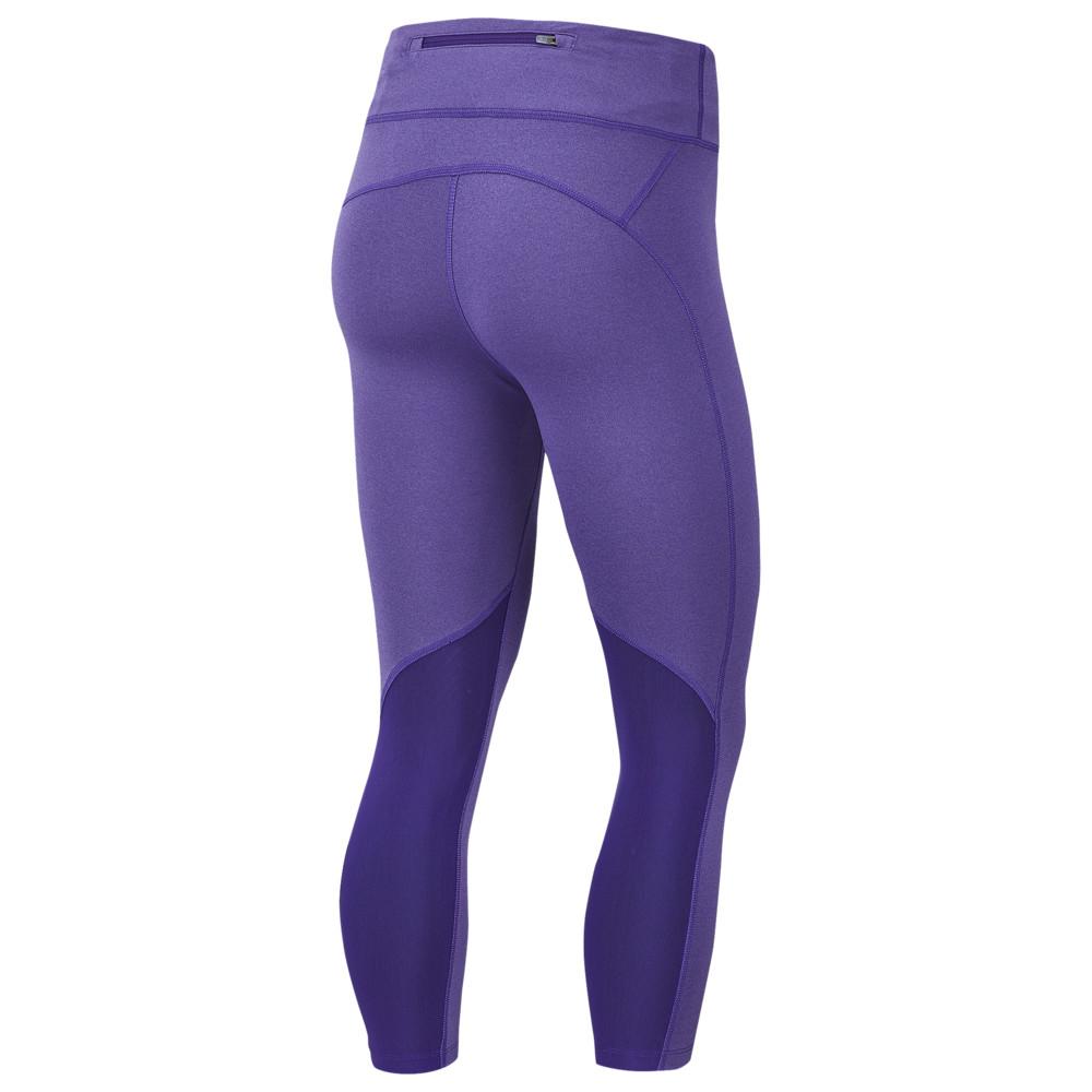 ナイキ Nike レディース フィットネス・トレーニング ボトムス・パンツ【Fast Crop】Court Purple/Psychic Purple/Reflective Silver
