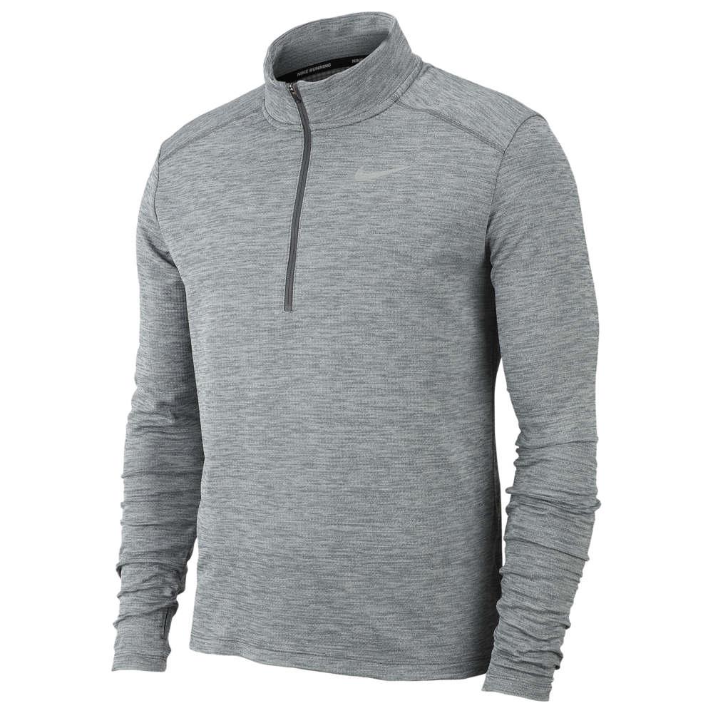 ナイキ Nike メンズ ランニング・ウォーキング ハーフジップ トップス【Pacer 1/2 Zip Top】Iron Grey/Grey Fog/Reflective Silver