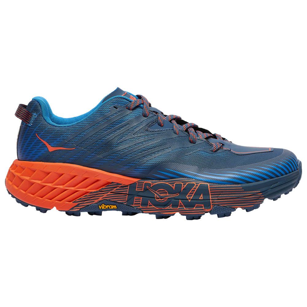 ホカ オネオネ HOKA ONE ONE メンズ ランニング・ウォーキング シューズ・靴【Speedgoat 4】Majolica Blue/Mandarin Red