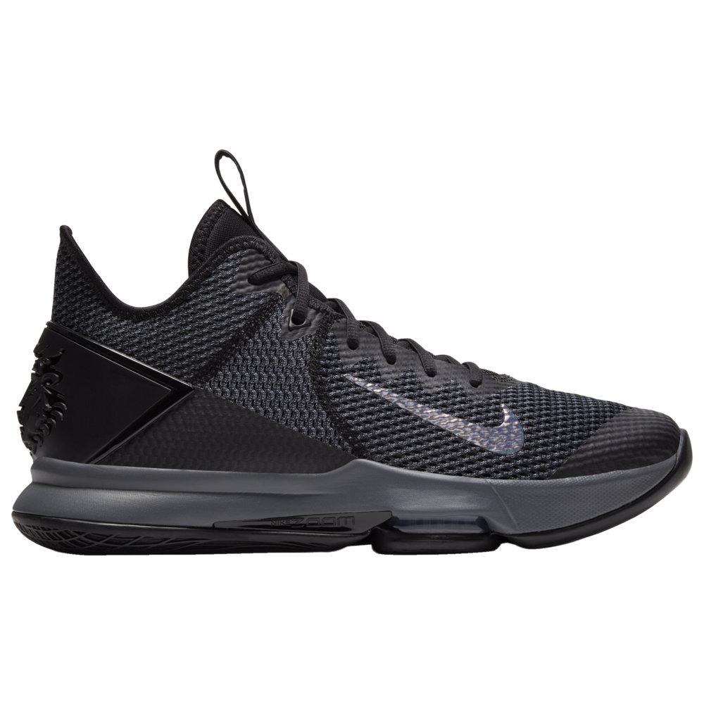 ナイキ Nike メンズ バスケットボール シューズ・靴【LeBron Witness 4】Lebron James Black/Iron Grey/Anthracite