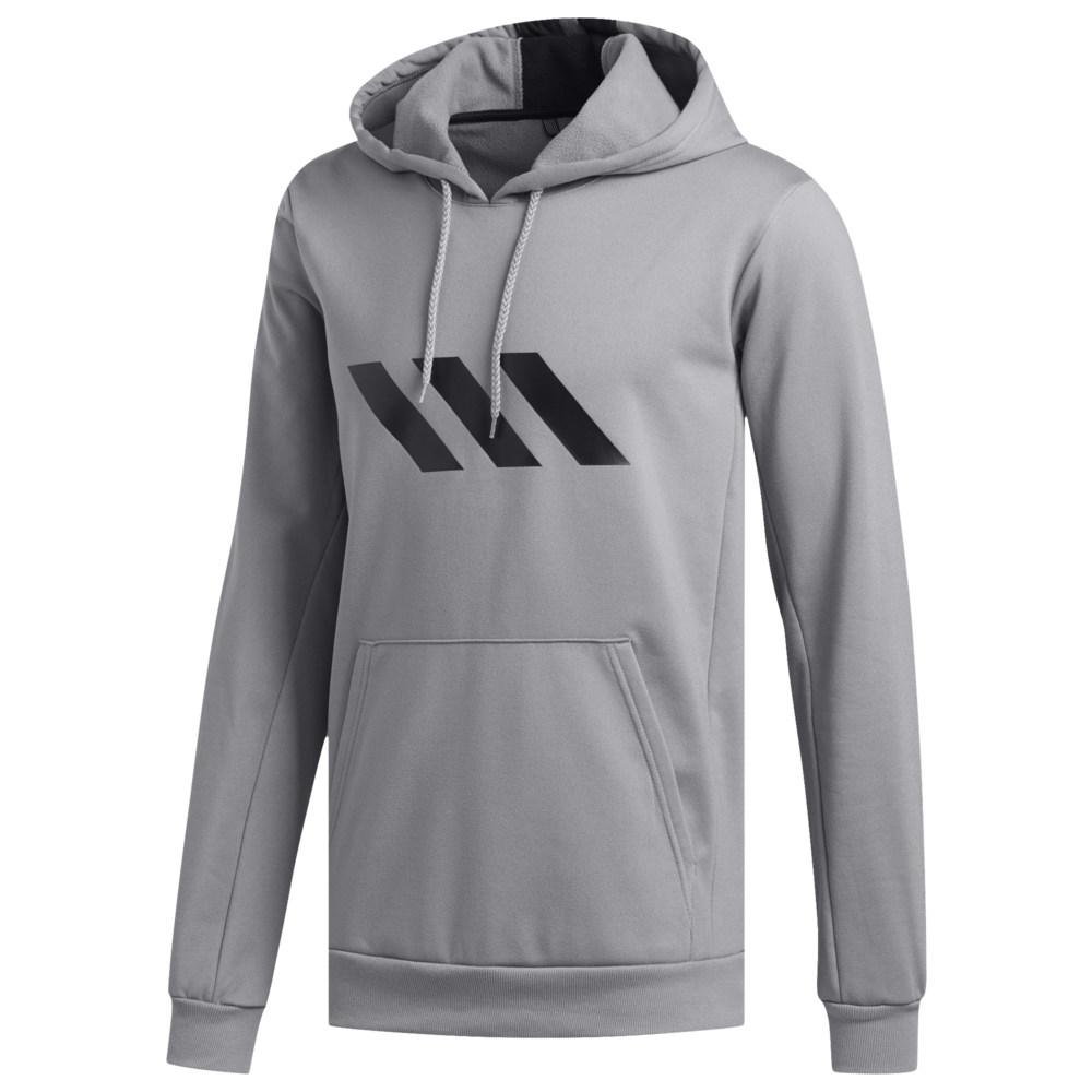 アディダス adidas メンズ バスケットボール パーカー トップス【Pro Sport Hoodie】Grey Three F