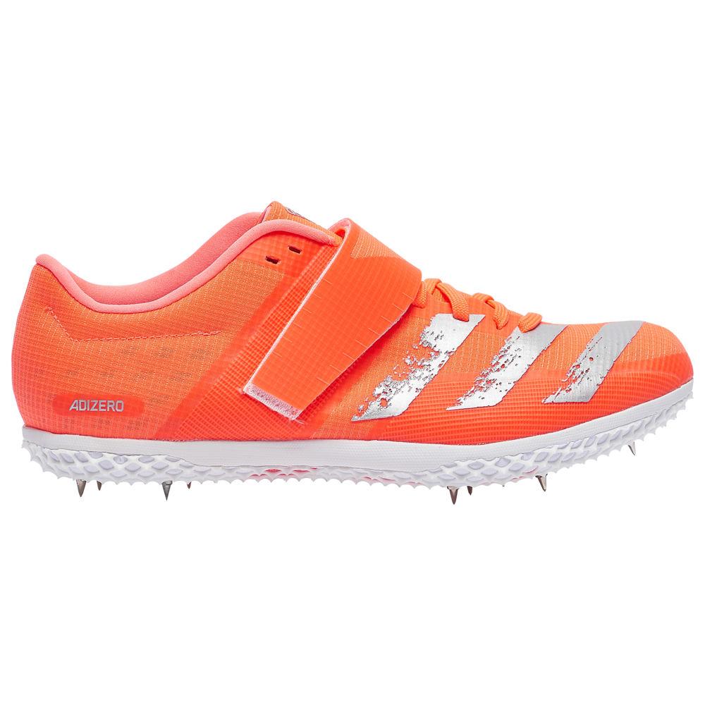 アディダス adidas メンズ 陸上 シューズ・靴【adiZero HJ】Signal Coral/Silver Metallic/Footwear White