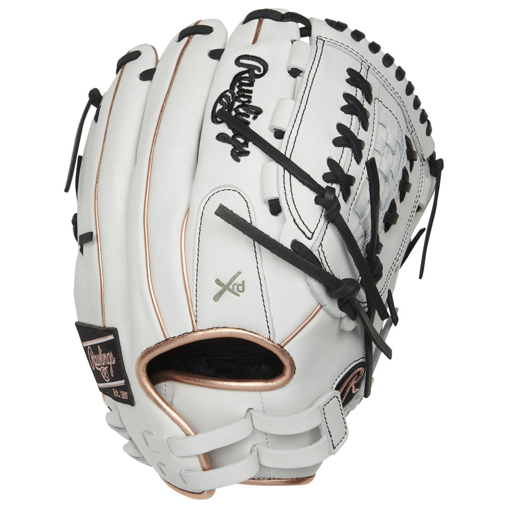 ローリングス Rawlings レディース 野球 グローブ【Liberty Advanced Color Sync 2.0 Glove】White/Rose Gold/Black