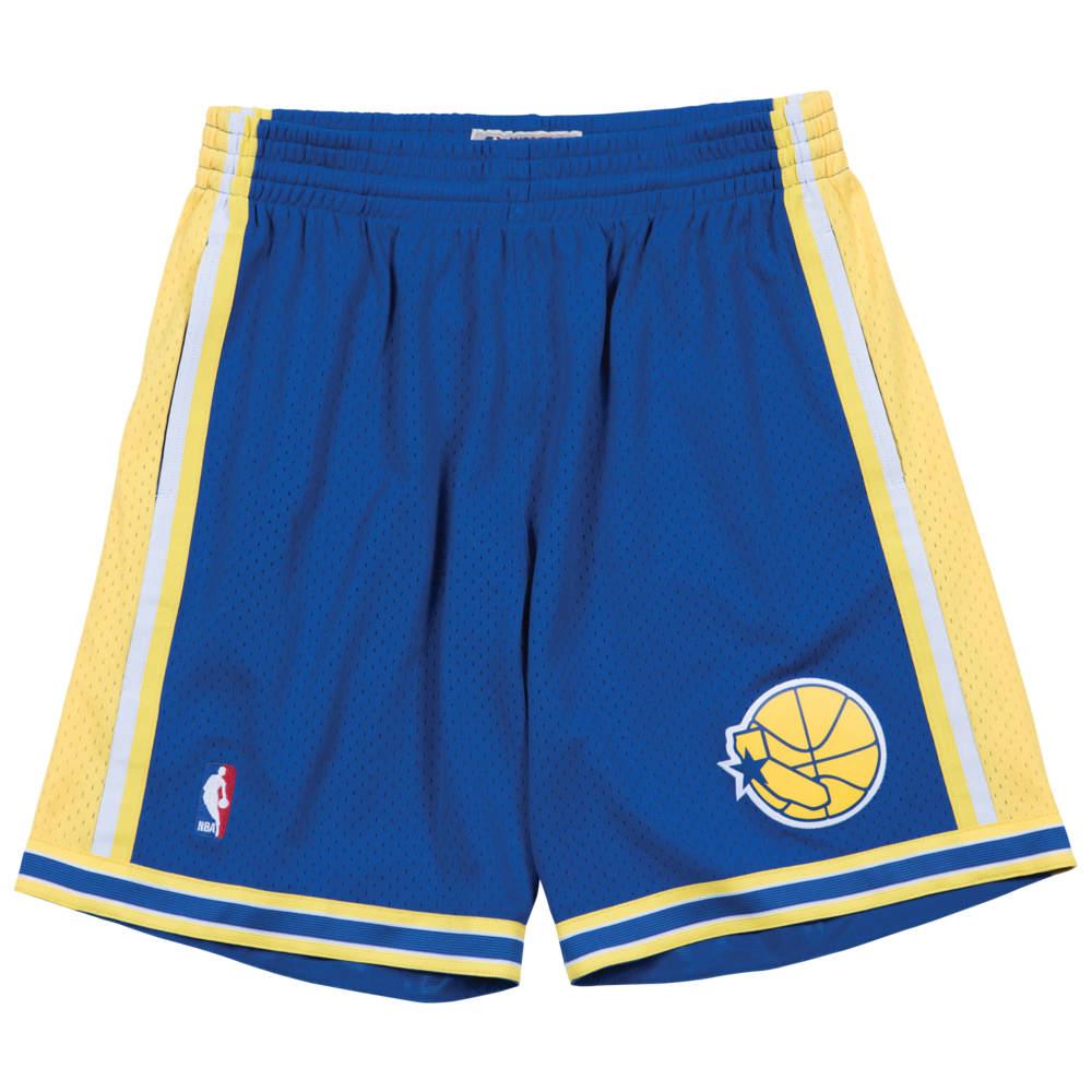 ミッチェル&ネス Mitchell & Ness メンズ バスケットボール ショートパンツ ボトムス・パンツ【NBA Swingman Shorts】NBA Golden State Warriors Royal to