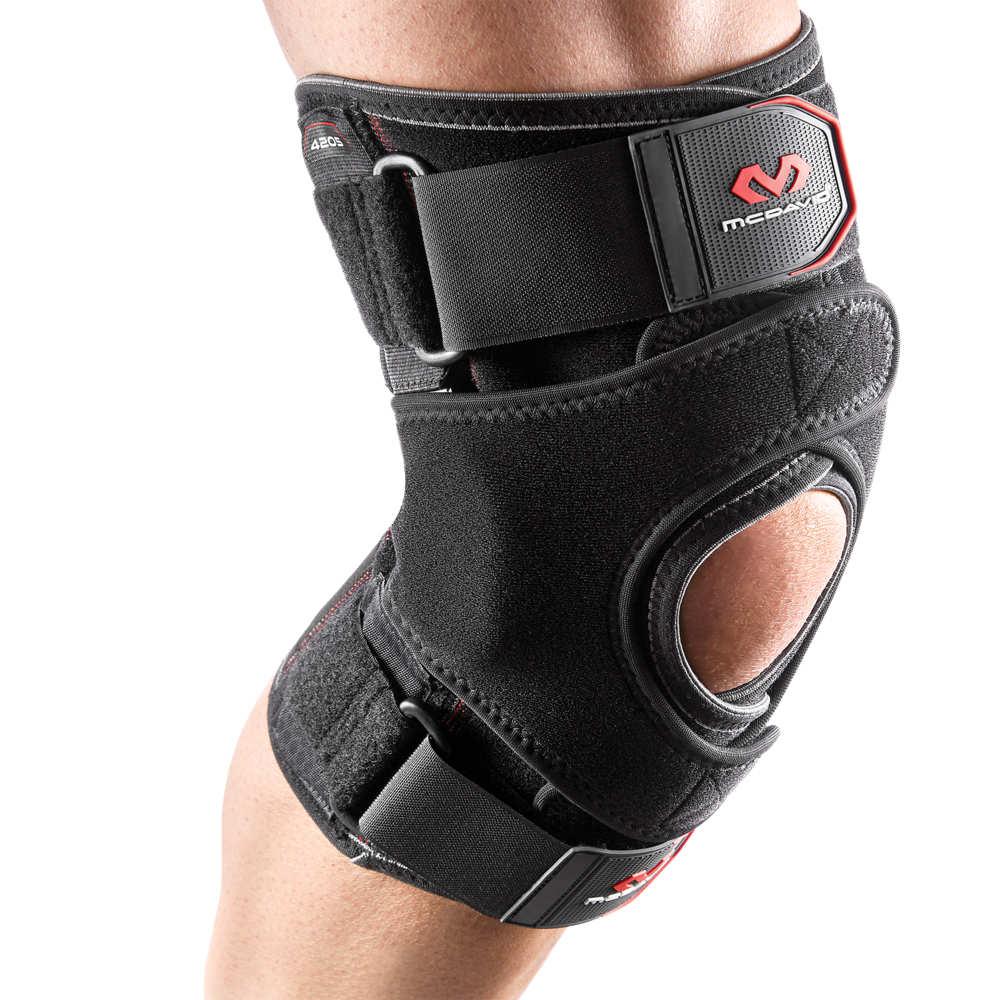 マクダビッド McDavid ユニセックス フィットネス・トレーニング サポーター【Vow Knee Wrap w/ Hinges & Straps】