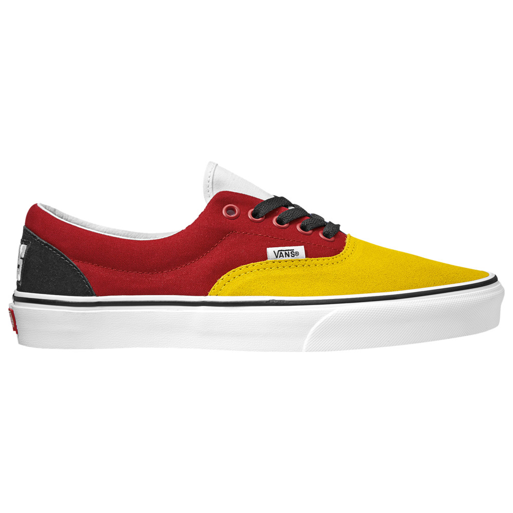 ヴァンズ Vans メンズ スケートボード シューズ・靴【Era】Yellow/Red/Black RALLY